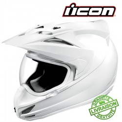 Casque ICON - VARIANT GLOSS WHITE