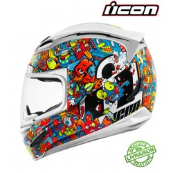 Casque ICON AIRFRAME PRO GHOST CARBON BLACK