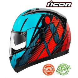 Casque ICON ALLIANCE GT PRIMARY BLUE / RED