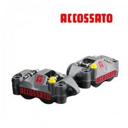 Etrier ACCOSSATO Monobloc Forgé - 4 pistons 34mm - 108mm