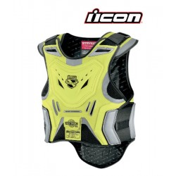 Gilet de protection ICON - STRYKER MIL-SPEC - JAUNE FLUO