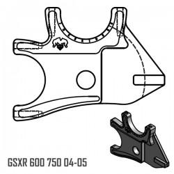 Platine Double - GSXR 600 750 04-05