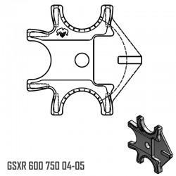 Platine Triple - GSXR 600 750 04-05