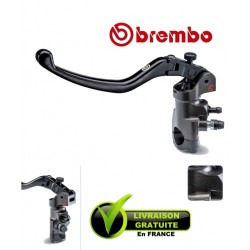 MAITRE-CYLINDRE BREMBO EMBRAYAGE RADIAL PR19X18 CNC LEVIER LONG REPLIABLE