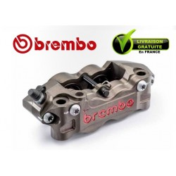 ETRIER BREMBO RADIAL P4 32/36 GAUCHE 2 PLAQUETTES ENTRAXE 108MM