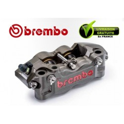 ETRIER BREMBO RADIAL P4 32/36 DROIT 2 PLAQUETTES ENTRAXE 108MM