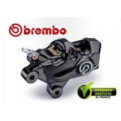 ETRIER BREMBO AXIAL .484 DROIT CNC AXIAL NOIR + LOGO 4X32 ENTRAXE 69,1MM