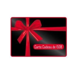 Carte Cadeau d'une valeur de 150€
