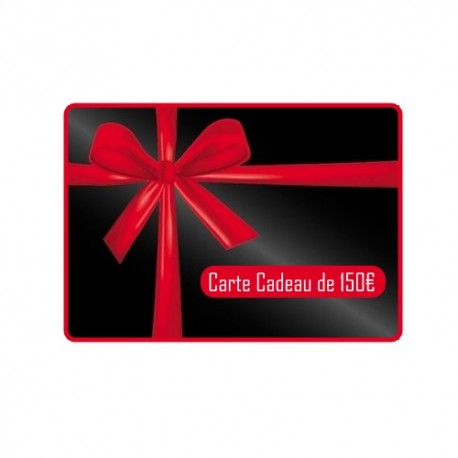 Carte Cadeau d'une valeur de 50€