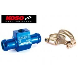 Adaptateur de sonde T° eau KOSO - montage sur durite 14mm