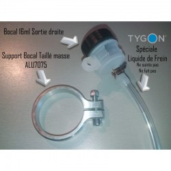Kit Complet Support bocal Diam43 avec Bocal et durite Tygon