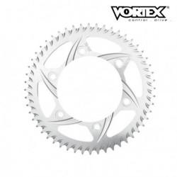 Couronne VORTEX - DUCATI 998 02-03 520 Conv (MUST USE CARRIER ref:148) - Argent (ref:848A)