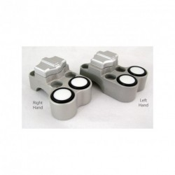 Contacteur ISR - 1 slide + 2 poussoirs - Position gauche - CNC - Guidon 22mm