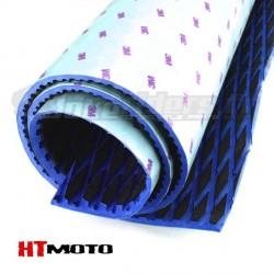 Plaque de Grip 75x90cm HTMOTO - NOIR & BLEU