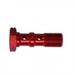 Brake Screw Double -10x100 - RED