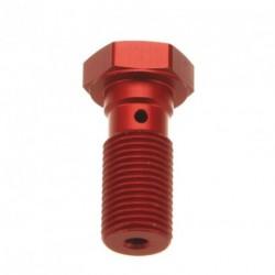 Brake Screw Single - 10X125 - RED