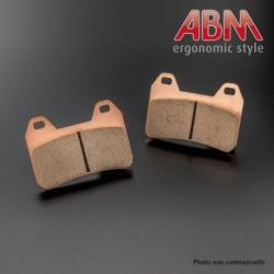Plaquettes de frein ABM (pour Etrier Arrière ABM 2 pistons ref: 10028415)