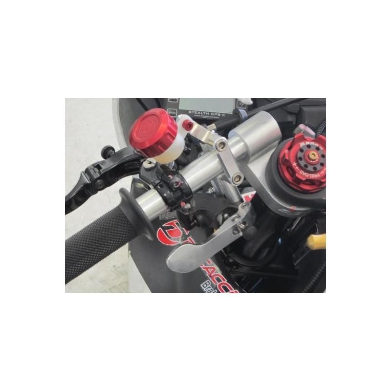 "Radial brake master cylinder Discacciati 16mm tank silver lever silver cap 1/"""