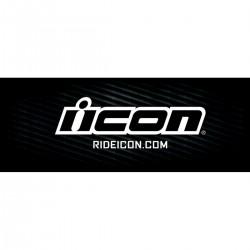 Banner ICON - Black Logo - 240x80cm