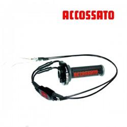 Tirage Rapide Noir ACCOSSATO + 3 Courses de réglage + Cables
