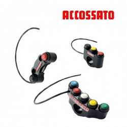 Commodo Racing ACCOSSATO - 2, 3 ou 5 boutons