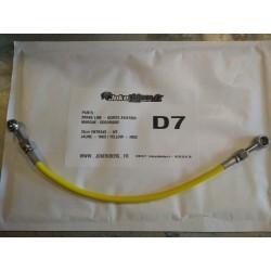 Brake line GOODRIDGE - YELLOW / INOX 35cm