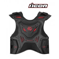 STRYKER VEST ICON - RED