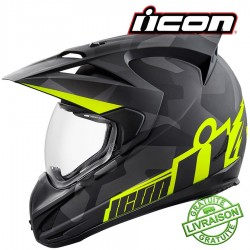 *NEW* Casque ICON - VARIANT DEPLOYED BLACK