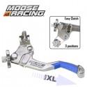 Levier Embrayage XL - MOOSE RACING Démultiplié - 3 positions - BLEU