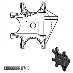 Triple Braket - CBR600RR 07-16