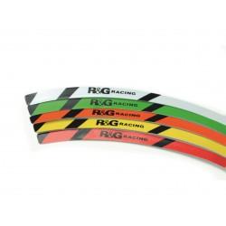 """Liseré de Jantes R&G RACING - 17"""" - 7 coloris"""