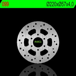 Disque arriere NG BRAKE APRILIA RS4 125 11-17 (350099) Rond - Fixe