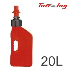 Bidon TUFF JUG - Rouge Transparent 20L