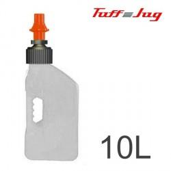 Bidon TUFF JUG - Blanc Transparent 10L