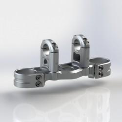 Té de Fourche Renforcé CNC avec Pontets - HONDA CBR 600 F4 FS 99-02