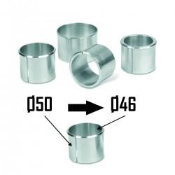 2x Bagues d'adaptation Ø50 à Ø46