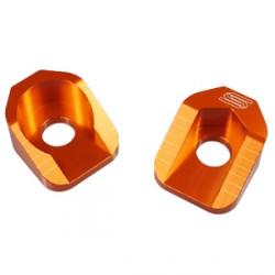 Tendeur de chaîne SCAR orange KTM SX65