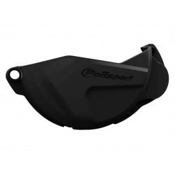 Protection de carter d'embrayage POLISPORT noir Honda CRF250R