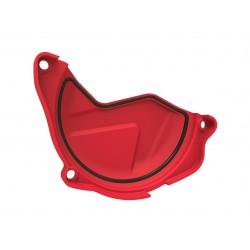Protection de carter d'embrayage POLISPORT rouge Honda CRF450R
