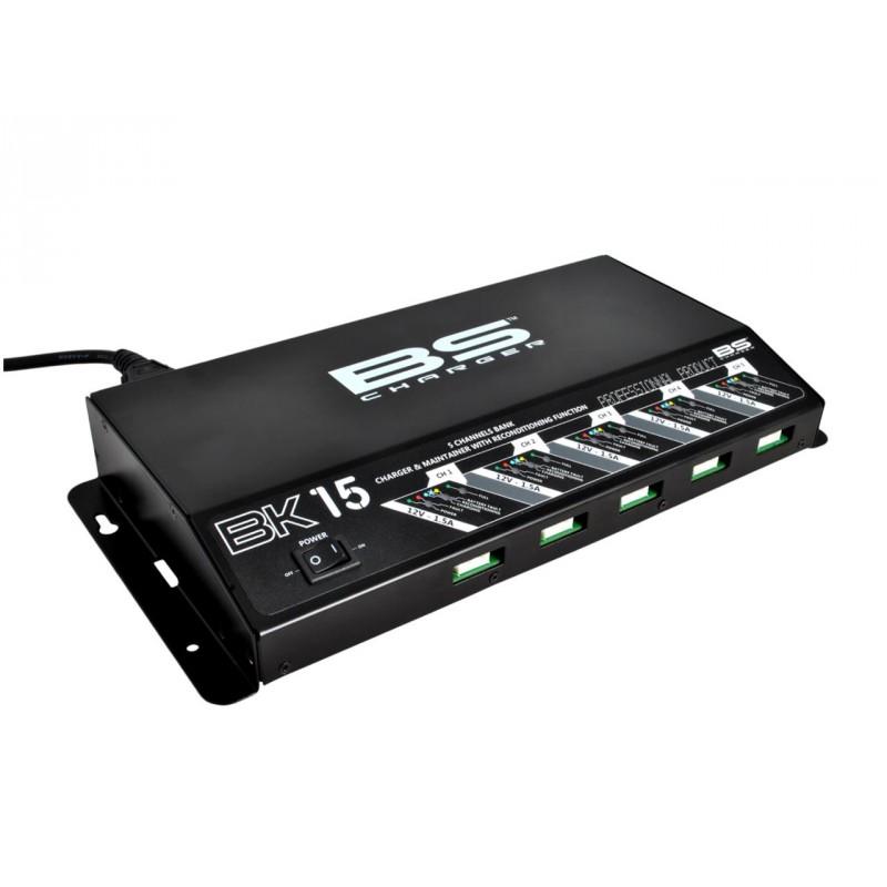 chargeur de batterie pro 12v 1 6a bs60 jokeriders. Black Bedroom Furniture Sets. Home Design Ideas