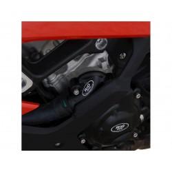 Couvre-carter gauche (pompe à eau) R&G RACING Race Series noir BMW S1000RR