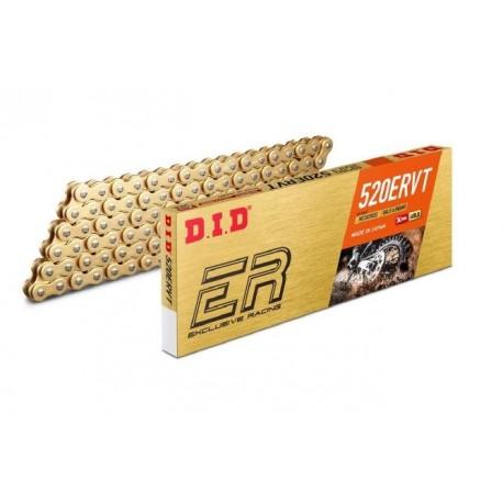 Chaîne de transmission D.I.D 520 ERVT or/or 118 maillons