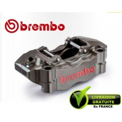 ETRIER BREMBO RADIAL GAUCHE TAILLE MASSE 2 PARTIES P4 34/30 ENTRAXE 100MM