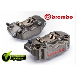 PACK BREMBO 2 CALIPERS RADIAUX HPK P4 34/30 ENTRAXE 108MM