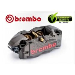 ETRIER BREMBO RADIAL MONOBLOC ENDURANCE DROIT P4 32/36 ENTRAXE 108MM