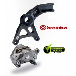 KIT BREMBO REAR CALIPER FORGED WITH CARRIER ZX10R 08-10