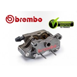 REAR BREMBO CALIPER AXIAL 2 PARTIES P4 24 CNC ENTRAXE 64MM FOR DISC 8MM