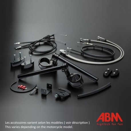 Kit MultiClip ABM Reglable - YZF-R6 - 08+ (Kit Sport Version)