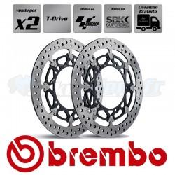 2x Discs SUPERBIKE / MOTOGP - BREMBO T.DRIVE