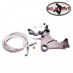 Kit platine Handbrake + Etrier + durite - HONDA CRF 450 - CRF 250 - CR 250R - CRF 450X - CRF 250X